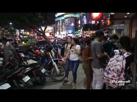 Philippines LIVE - Cebu City Night Walk Osmena Park Capitol Site Live Stream