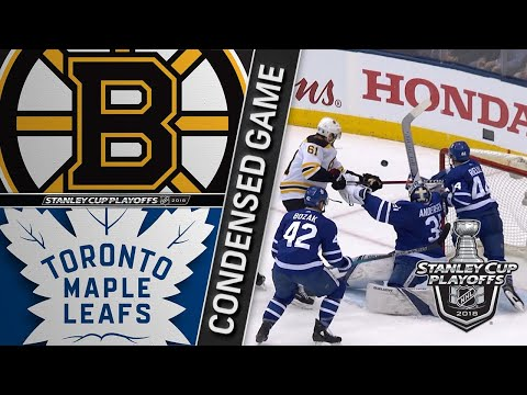 04/23/18 First Round, Gm6: Bruins @ Maple Leafs