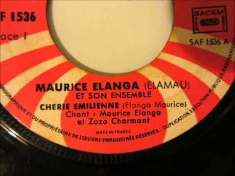 Maurice Elanga (Elamau) et son ensemble - chérie Emilienne (Sonafric SAF1536)