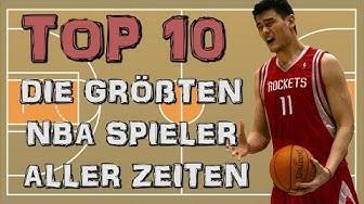 Die größten NBA Spieler | Top 10