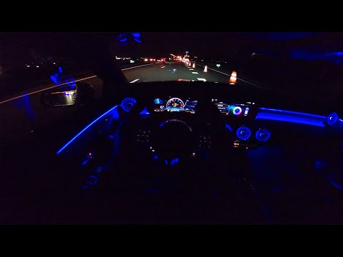 2020 MERCEDES AMG CLA 35 | NIGHT DRIVE POV | AMBIENT LIGHTING By AutoTopNL