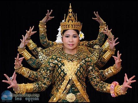 Khmer culture cambodian culture Khmer tranditional dance #1 - YouTube