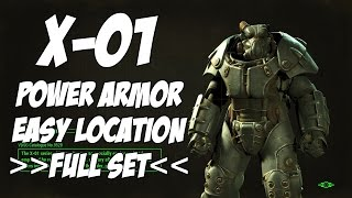 Fallout 4 - X-01 Power Armor [FULL SET] (Easy to get)