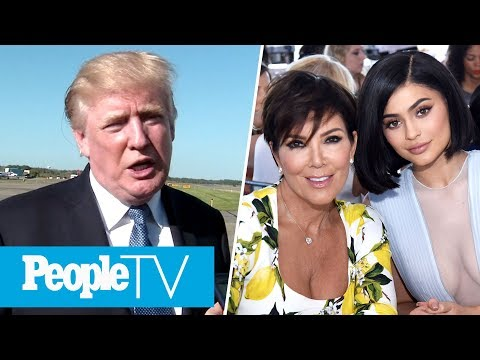 Trump Talks NFL Protests & Hollywood Reacts, Kris Jenner 'Shocked' By Kylie's Pregnancy | PeopleTV