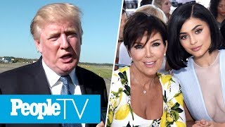 Trump Talks NFL Protests  Hollywood Reacts Kris Jenner Shocked By Kylies Pregnancy  PeopleTV