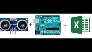 Ultrasonic sensor's data in Excel sheet using Arduino and plx-daq