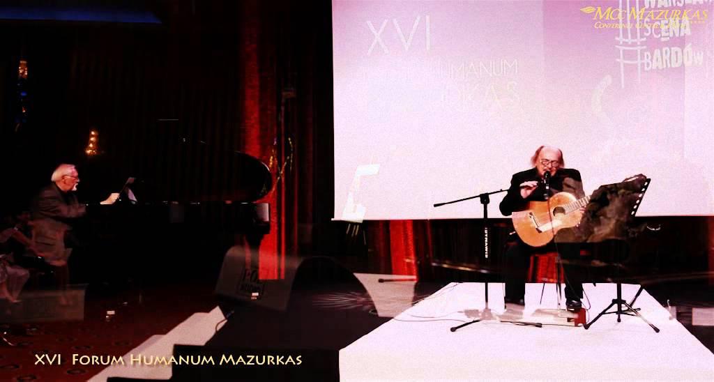 XVI Forum Humanum Mazurkas - Jerzy Mamcarz show piosenka