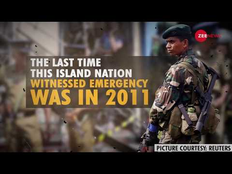 Why Sri Lanka has declared a state of emergency