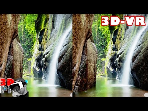3D Extreme Nature  Compilation | 3D Side by Side SBS VR Active Passive