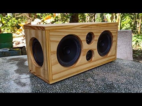 DIY 100W bluetooth speaker 🔊🔊🔊