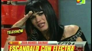 ELECTRA DUARTE expulsada de Paraguay - Infama - 27-7-2011