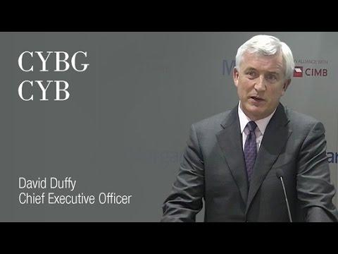 CYBG (CYB): David Duffy, Chief Executive Officer