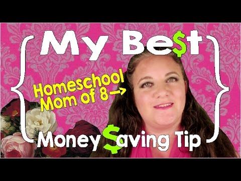 My Best Money Saving Tip ║ Large Family Finances