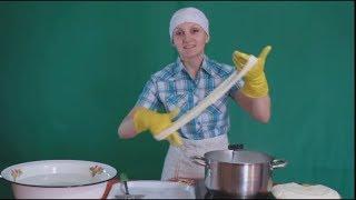 Сыр Косичка Мастер класс Домашний сыр Копченый сыр Чечил Рецепт сыра
