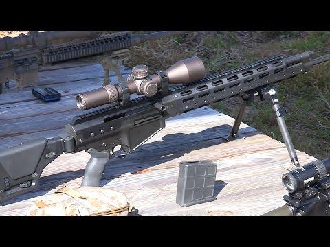 .338 Lapua Ulfberht Semi-Auto Sniper Rifle Alexander Arms: Big 3 East