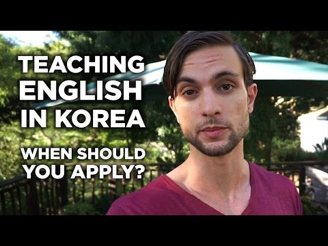 10x The Chance Of Landing A Job: When To Apply For Teaching English In Korea Positions