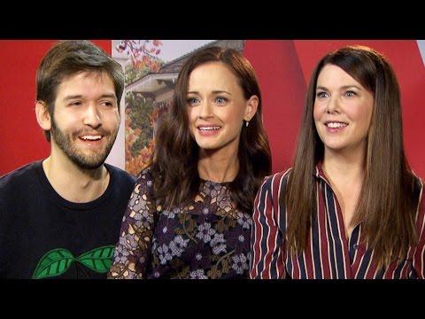 Interviewing the Gilmore Girls (Lauren Graham & Alexis Bledel) | Michi trifft