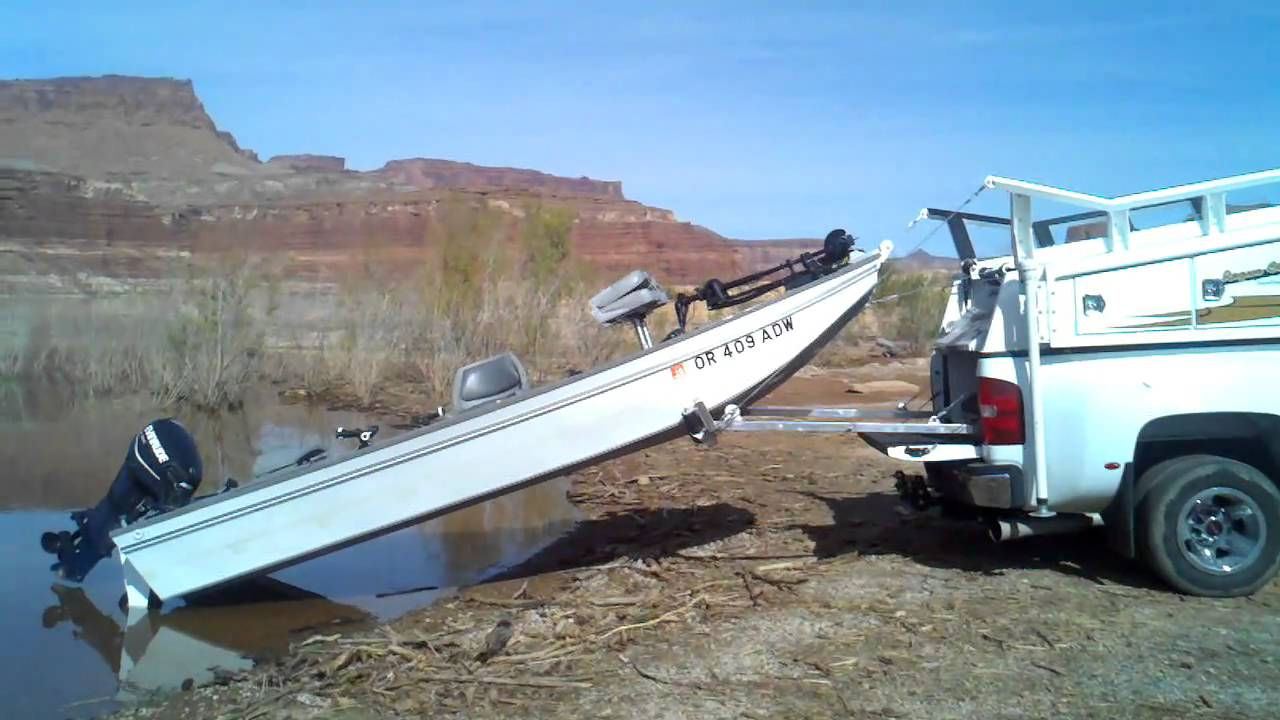Boat Loader Lake Powell 3gp Youtube