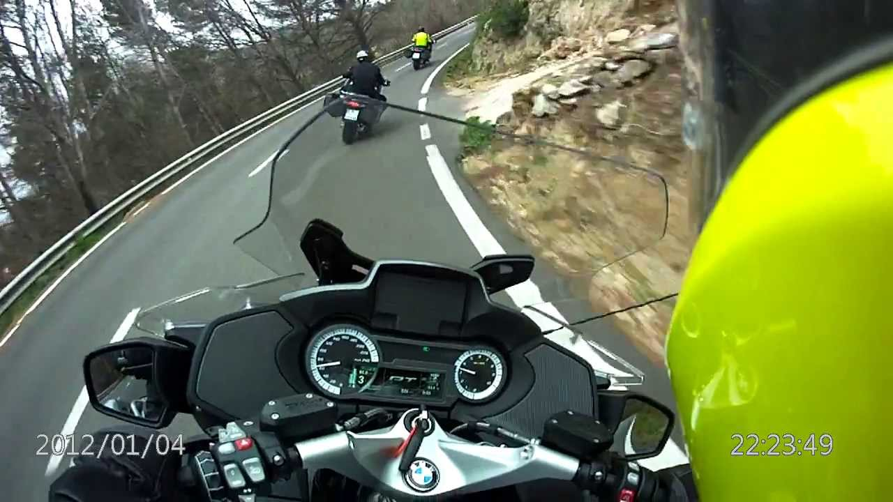 Bmw R1200rt Quot Lc Quot Test Drive Mallorca 2014 With Bertrand