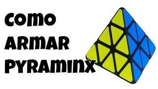 como armar el pyraminx   rozette cubes