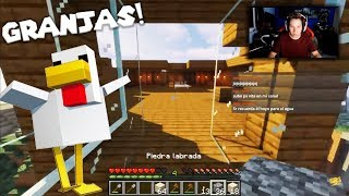 Intentando hacer una granja en Minecraft: Cuadritos en HD 4K