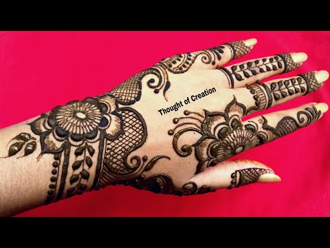 Eid Special Henna Design for Hands