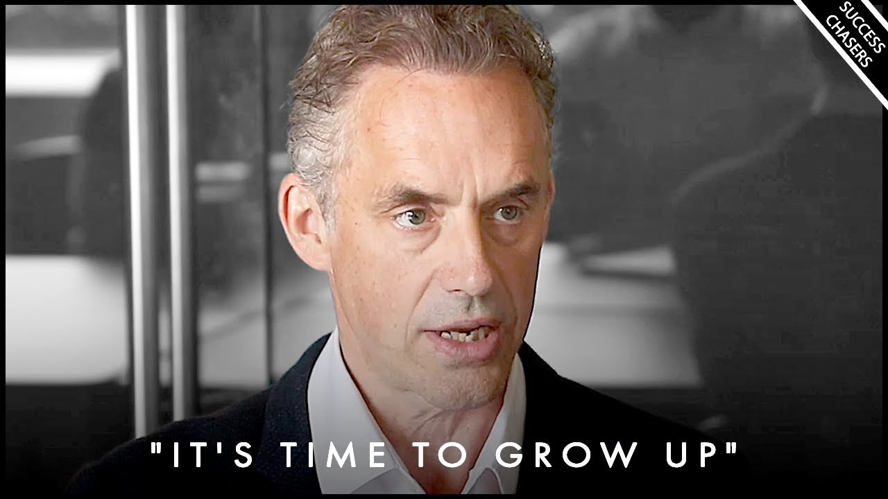 """IT'S TIME TO GROW UP! Stop Wasting Your Life Away"" - Jordan Peterson Motivation"