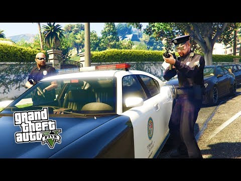 HOW TO BECOME A COP IN GTA 5 (PS4)