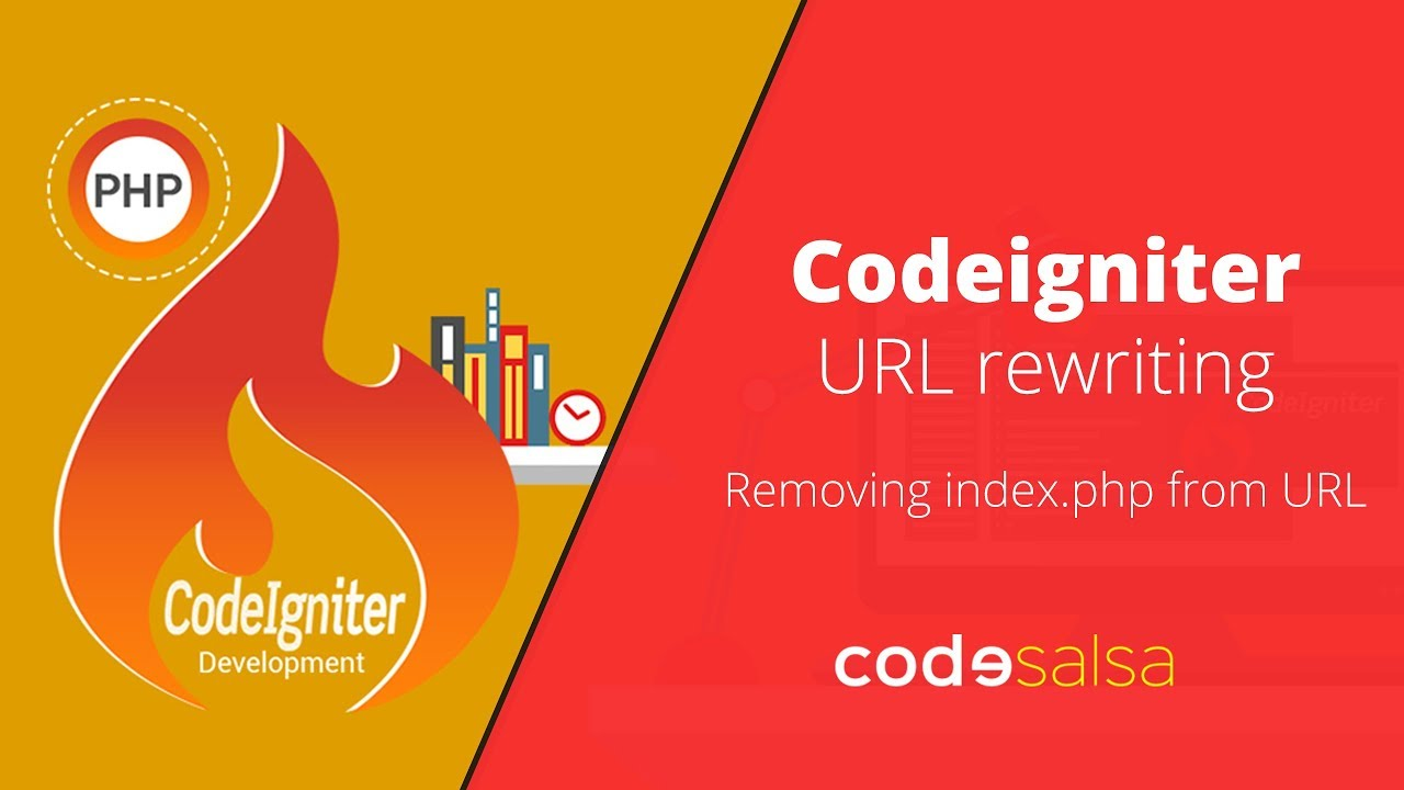 Codeigniter Tutorial for Beginners - URL rewriting, removing index php from  URL, Clean URL