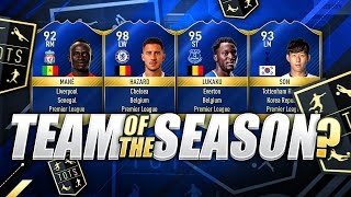 Team of the season?