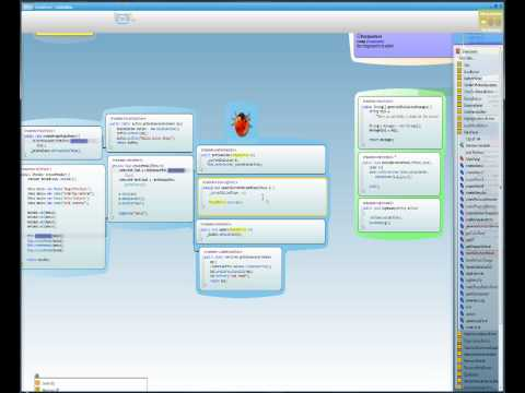 Code Bubbles: Rethinking the User Interface Paradigm of Integrated Development Environments