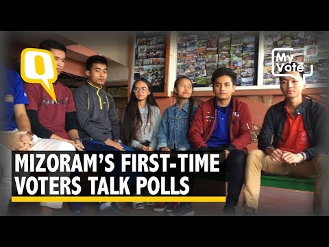 First Time Voters In Mizoram Talk About Their Issues This Election | The Quint