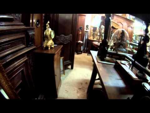 Walking through John Meyers french antiques exhibiiton sale 2014