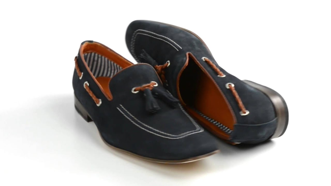bf634615049 Peter Millar Portofino Loafer Shoes - Nubuck (For Men) - YouTube