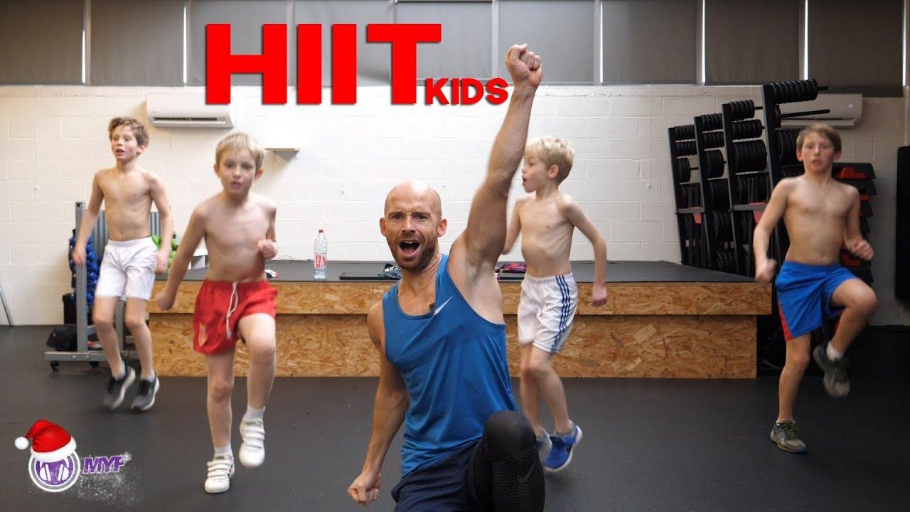 HIIT pour Enfants - kids Workout - Alexandre Mallier