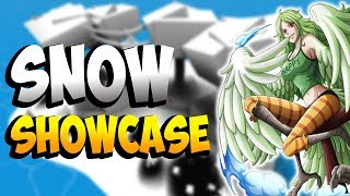 SNOW & YUKI YUKI NO MI SHOWCASE | STEVE'S ONE PIECE | ROBLOX