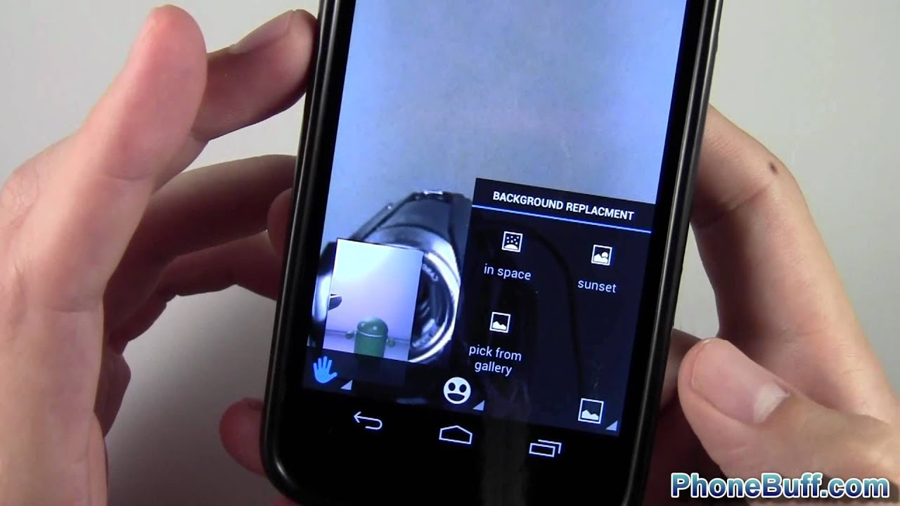How To Share Videos While Video Chatting On Google Talk (for Android)