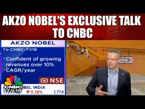 Akzo Nobel to CNBC: 'Confident of Growing Revenue Over CAGR/Year | CNBC TV18
