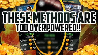 UNBELIEVABLE LIVE SNIPES!! MAKE MILLIONS OVERNIGHT BY SNIPING AND INVESTING IN MADDEN MOBILE!!