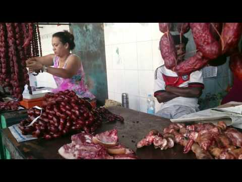 Bustling Margao (Madgaum)  Goa India