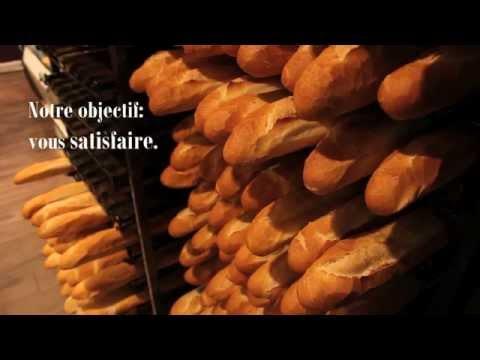 Boulangerie - clip de présentation pour écran en magasin.