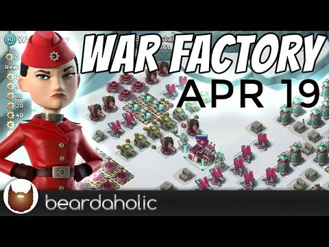 Boom Beach Gearheart War Factory Unboosted Gameplay Gren Walkthrough for Apr 19, 2018