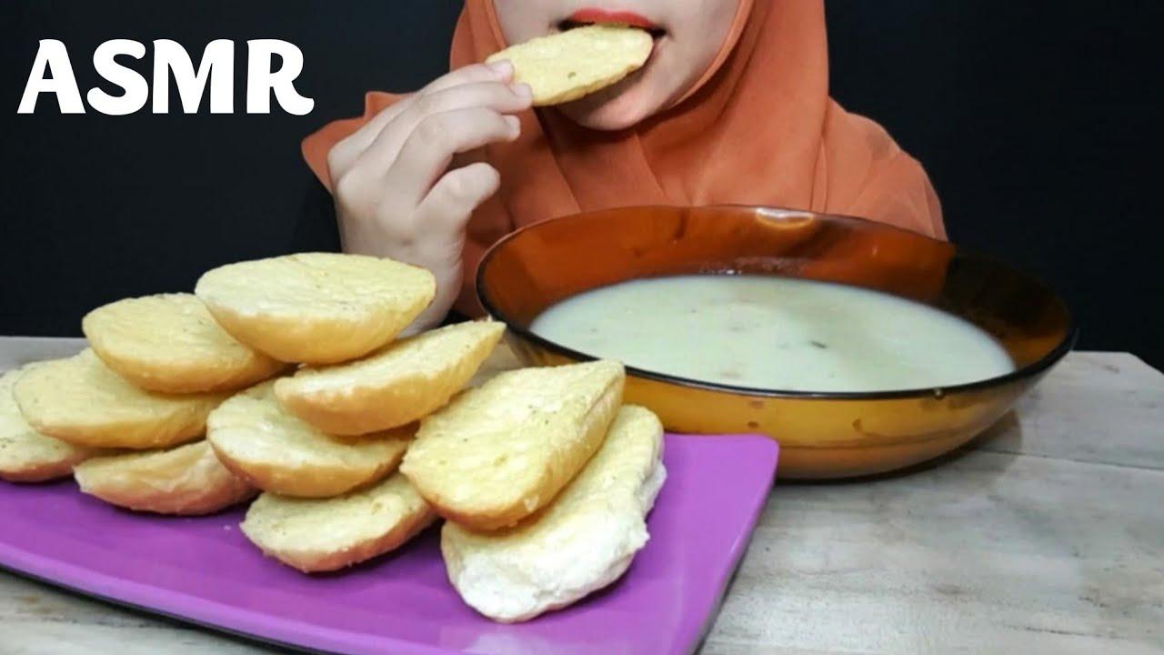 ASMR BAGELEN & SUP KRIM || Bagelen & Cream Soup || ASMR Indonesia