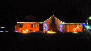 light-o-rama 2012 32 channel show The House On Christmas Street