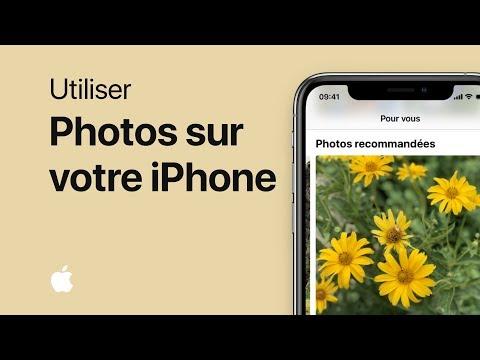 Vidéo Utiliser Photos sur votre iPhone