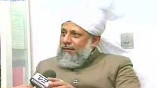 English Interview with Hadhrat Khalifatul Masih 5 aba