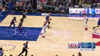 1st Quarter, One Box Video: Philadelphia 76ers vs. Detroit Pistons