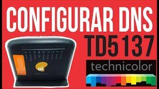 Technicolor TD5137 Configurar DNS - Conecta mas não navega, aumente a velocidade de sua conexão