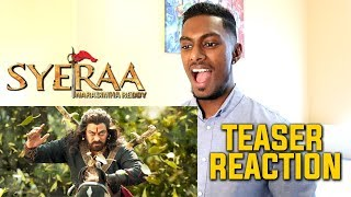 Sye Raa Narasimha Reddy Teaser Reaction & Review | Chiranjeevi | PESH Entertainment