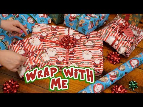 Wrap Presents With Me 🎄🎅🏻